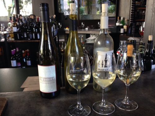 Washington Vanguard Wine Flight - Purple Cafe & Wine Bar, Seattle WA